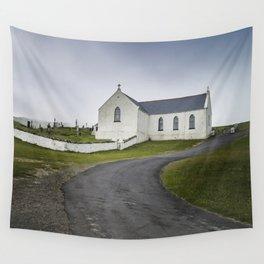St. Marys Church - Lagg Wall Tapestry
