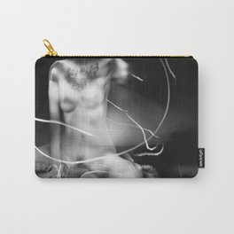 nude lightpainting Carry-All Pouch