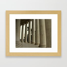 Washington Monument as seen from the Jefferson Memorial Framed Art Print
