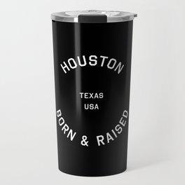 Houston - TX, USA (Badge) Travel Mug
