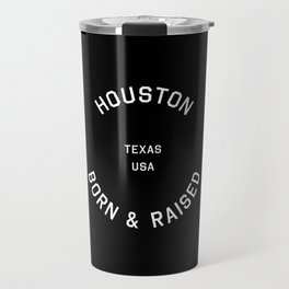 Houston - TX, USA (Black Badge) Travel Mug