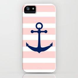AFE Nautical Navy Ship Anchor iPhone Case