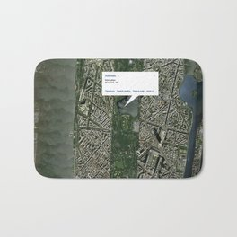 What if Manhattan Was Designed Like Paris? Bath Mat