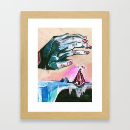 Warmth Framed Art Print