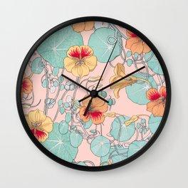 Lily Pond #society6 #decor #buyart Wall Clock