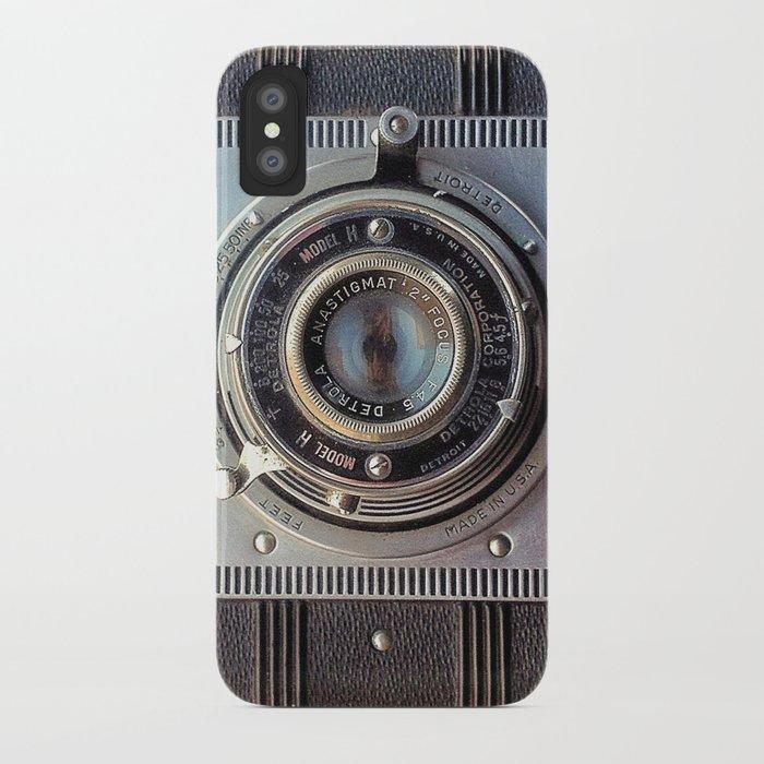 detrola (vintage camera) iphone case