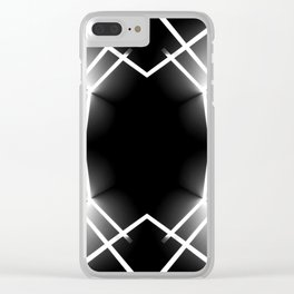LIFE LINES 2 Clear iPhone Case