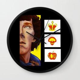 Sherlock - A Three-Panel Problem Wall Clock