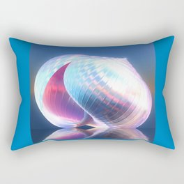 Reflected Shell Rectangular Pillow