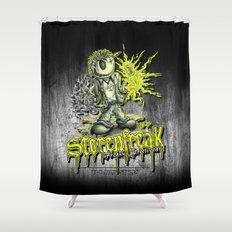 Störenfreak Shower Curtain