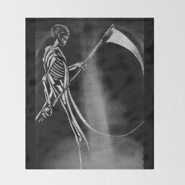 Ankou Throw Blanket