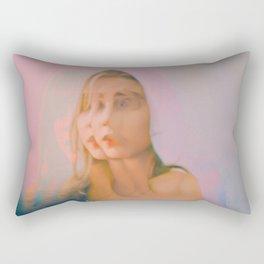 Changing Faces Rectangular Pillow