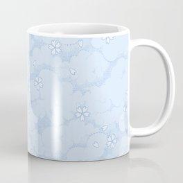 Kumori Nochi Sakura: Blue Coffee Mug