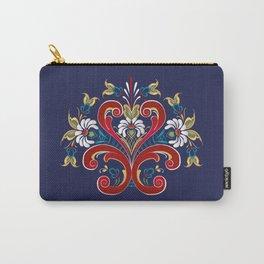Scandinavian Rosemaling II Carry-All Pouch