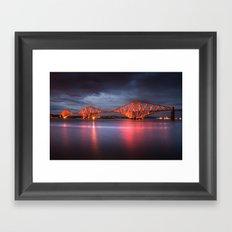 Forth Rail Bridge Framed Art Print