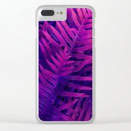 Ferns#2 Clear iPhone Case