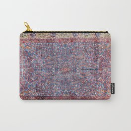 Kashan Central Persian Rug Print Carry-All Pouch