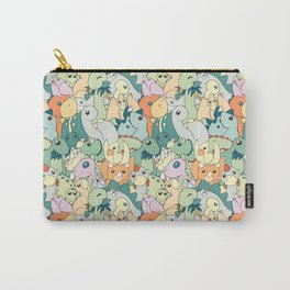 Cute Dino Pattern Carry-All Pouch
