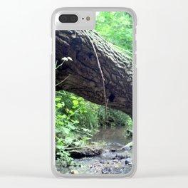A secret Home 01 Clear iPhone Case