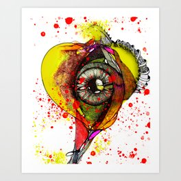 Rhythm of the Heart Art Print