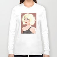 blondie Long Sleeve T-shirts featuring Blondie by Studio Drawgood