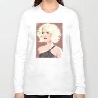 blondie Long Sleeve T-shirts featuring Blondie by drawgood