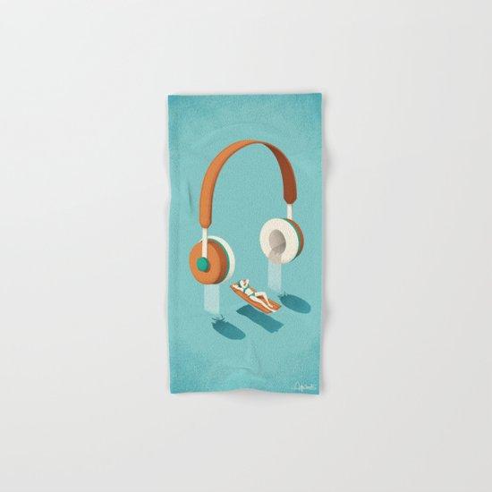 Flowing Hand & Bath Towel