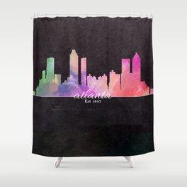 Atlanta  Shower Curtain