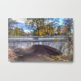 The Headless Horseman Bridge Metal Print