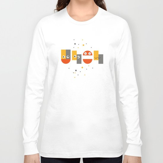 Cute is your uh oh Long Sleeve T-shirt