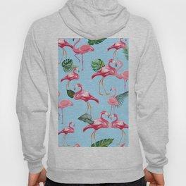 Flamingos Love Pattern 7 Hoody