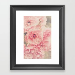 Roses in the Park Framed Art Print
