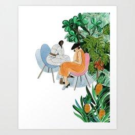 Samuji spring summer 17 Art Print