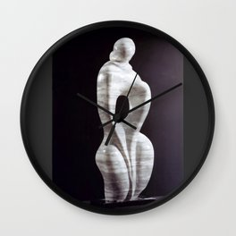 Passing Thoughts by Shimon Drory Wall Clock
