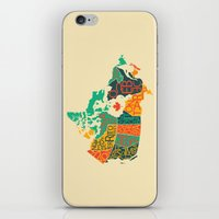 canada iPhone & iPod Skins featuring Canada by Mohit Gupta
