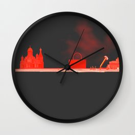 Squared:Situation Wall Clock
