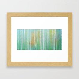 """""""Bamboo"""" Framed Art Print"""
