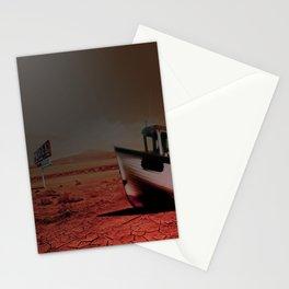 Deseert Boat Stationery Cards
