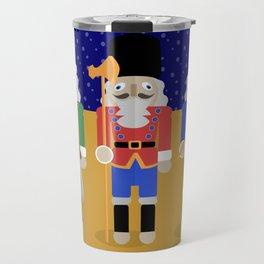 Christmas Nutcrackers Travel Mug