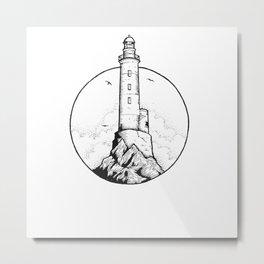 Light Town Metal Print