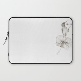 Sunbird_graphite by Pia Tham Laptop Sleeve