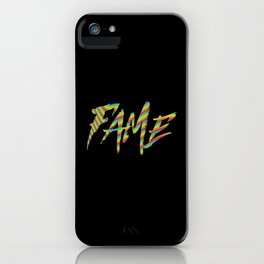 Fame iPhone Case
