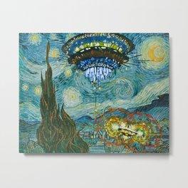 Starry Encounters Metal Print