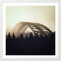 fleetwood mac Art Prints featuring Mac by Nick Dewald