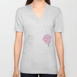 Rosebuds Unisex V-Neck