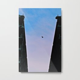 Flying Free Destruction Metal Print