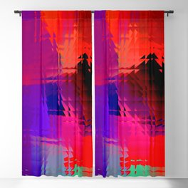 Square glass  9 Blackout Curtain
