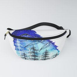 Mountain Wolf Fanny Pack
