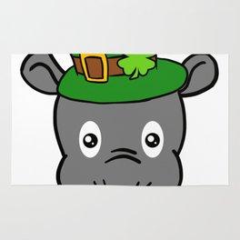Leprechaun Tapir- St. Patricks Day Rug