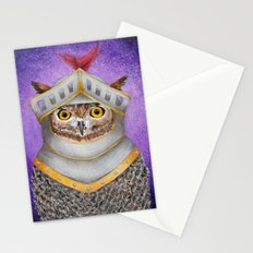 Knight Owl Stationery Cards
